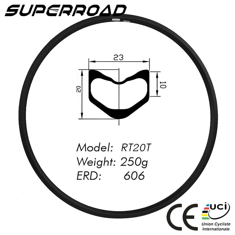 23mm Tubular Road Rims